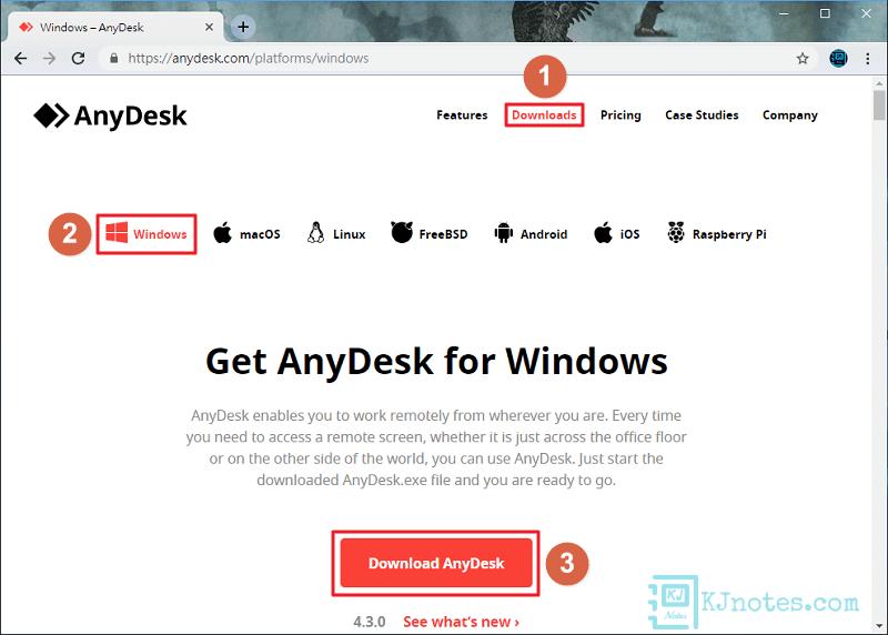 下載AnyDesk遠端桌面控制軟體-anydesk001